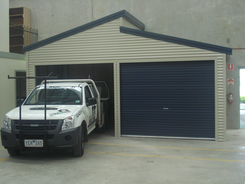 Double Flat Roof Carport Fair Dinkum Sheds