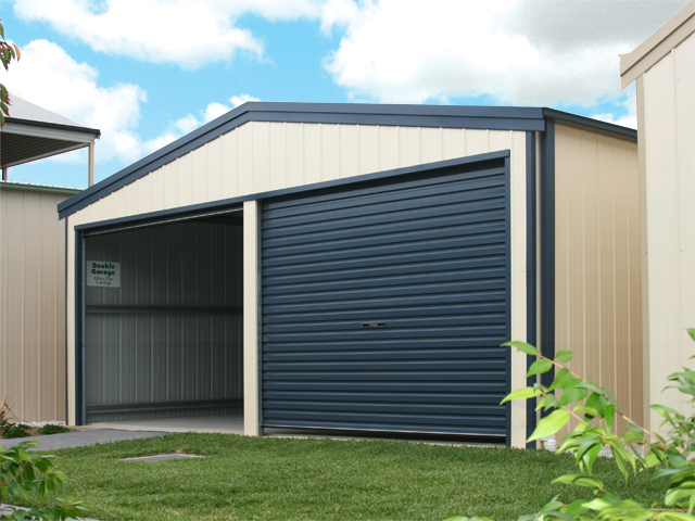 Additional roller doors fair dinkum sheds for Garden shed with roller door