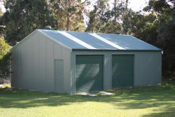 Fair Dinkum Enclosed Garage