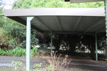 Fair Dinkum Double Flat Roof Carport