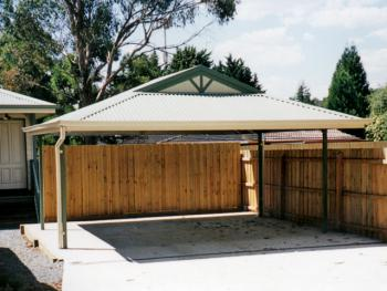Fair Dinkum The Entertainer Dutch Gable Carport