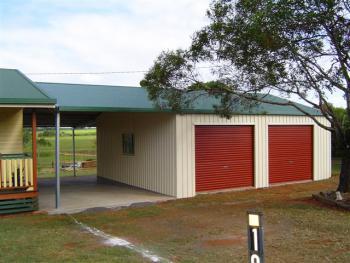 Fair Dinkum Garage with Garaport