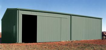 Fair Dinkum Farm Shed with Sliding Door
