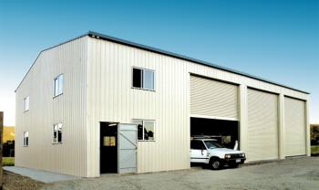 Fair Dinkum Industrial Building with Large Openings