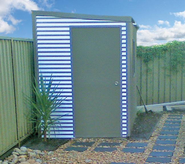Sydney Sheds Garages: Monopitch/Skillion Roof Garage