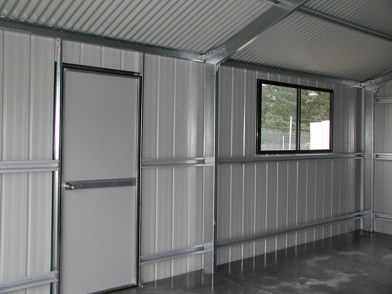 Access Door And Window Fair Dinkum Sheds