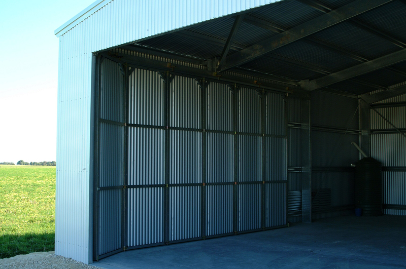 Steel Sliding Doors Fair Dinkum Sheds